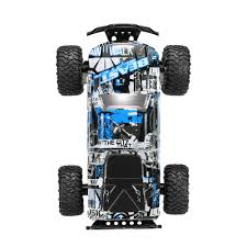 remote control bigfoot monster truck us original you jie toys uj99 2611b 1 18 2 4g 2ch 2wd electric