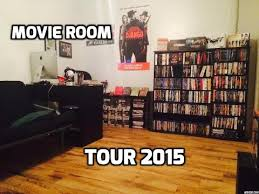 Blu Ray Shelves by New Blu Ray Shelves U0026 Movie Room Tour 2015 Youtube