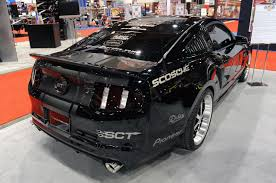 mustang auto shop sema 2010 pep boys speed shop paxton supercharged 2011 mustang