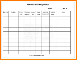 How To A Spreadsheet For Monthly Bills 8 Monthly Bill Spreadsheet Monthly Bills Template