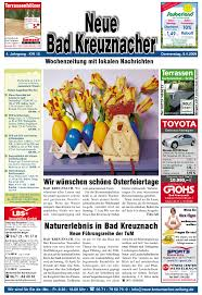 Wetter Bad Sobernheim 7 Tage Ausgabe Kw 15 09 By Kreuznacher Rundschau Issuu