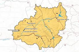 Colorado River Basin Map by Upper Colorado River Corridor Colorado Open Lands