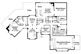 Ranch Home Designs Floor Plans Ranch House Plans Hillcrest 10 557 Associated Designs