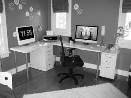 appealing home office room with small work desk furniture partner