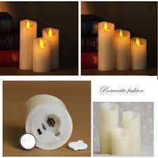aliexpress com buy flameless led wax candle light christmas