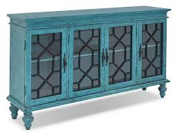 Turquoise Cabinet Cabinets And Curios The Brick