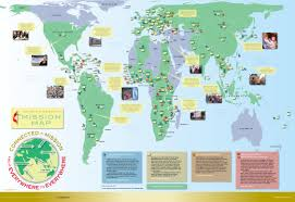 Maps Around The World by Mission Map General Board Of Global Ministries