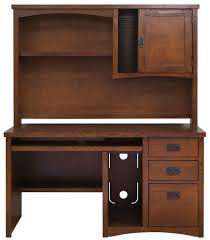 Mission Style Computer Desk With Hutch by Martin Furniture Manufacture Entertainment Centers And Office