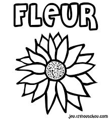 image fleur muguet à colorier pour enfants à imprimer gratuitement