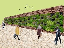 How To Make Vertical Garden Wall - how to build a diy vertical garden archdaily