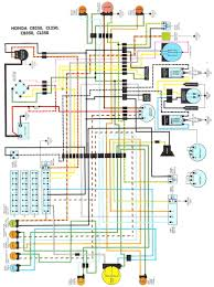 cb350 k4 color electrical diagram wiring diagram components
