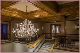 popular deer antler chandelier home decorations ideas