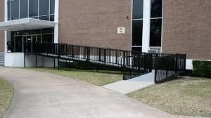 Handicap Handrail Texas Accessibility Standards Tas Guidelines Ramps Handicap