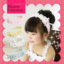white flower headband tenshinodoresuyasan rakuten global market flower headband pink