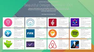 beautifully designed google beautiful design collection gets updated spotify lumosity