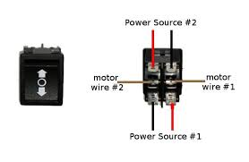 how to wire a dpdt rocker switch for reversing polarity 5 steps