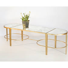 Quatrefoil Side Table Wood And Gold Coffee Table Metal Glass Fabulous Of With