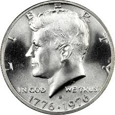1776 to 1976 quarter 1776 1976 s silver 50c ms kennedy half dollars ngc