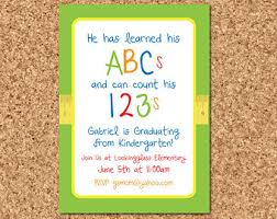 8th grade graduation invitations preschool graduation invitation cloveranddot