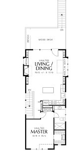 narrow home plans a charming home plan for a narrow lot 6992am 2nd floor master