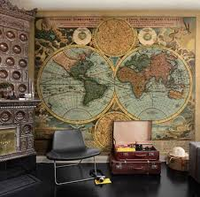 Map Tapestry Large Old World Map Tapestry Carpet Decoration Old World Map