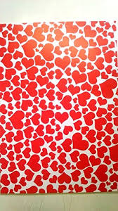 decorative paper kabeer hearts design pack of 10 a4 size craft paper sheets