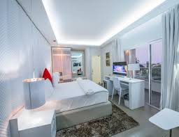 futuristic white lamp island hotel room furniture packages can be