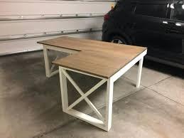 Diy Desk Plan Diy L Shaped Desk Plans Plan L Shaped X Diy L Shaped Desk