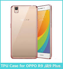 Oppo A37 For Oppo A37 Electroplating Luxury Ultra Thin Clear Transparent