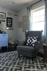 sherwin williams repose gray in a north facing or room with shadows