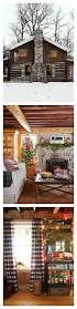 definition of home decor this man u0027s christmas cabin is the definition of cozy knotty pine