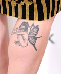 alexandra breckenridge u0027s tattoos wings tattoo on leg pretty