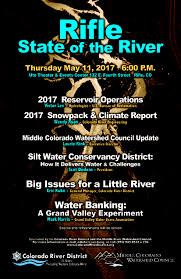 Lower Colorado Water Supply Outlook March 1 2017 Crd State Of The River Meetings Colorado River District
