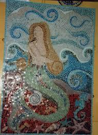 Bathroom Mosaic Ideas 92 Best Mermaid Mosaics Images On Pinterest Mermaid Art Mosaic