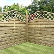 Types Of Garden Fences - decorative fencing waltons sheds