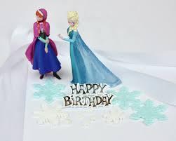 elsa u0026 ana disney princess decoration set glamorose cakes