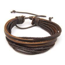 leather bracelet wristband images Leather bracelets for men jpg