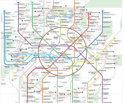 Moscow On Map Moscow Re Opens Its Central Circle Railway Line Uitp