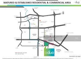 map usj 1 the duo new condo usj 1 usj selangor 3 bedrooms 844 sqft