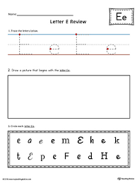 free worksheets the letter e worksheets free math worksheets