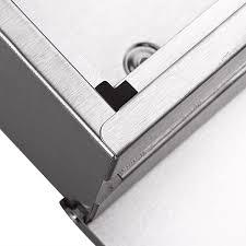 Rustic Iron Mail Slot Outdoor - zearo waterpfoof stainless steel lockable mailbox newspaper holder