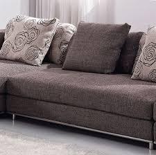 Fabric Modern Sofa Contemporary Modern Brown Fabric Sectional Sofa Tos Anm9708 2