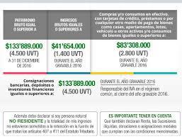 vencimientos renta personas dian 2016 cómo declarar renta en 2017