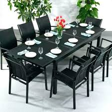 8 seat patio table 8 seat patio dining set source outdoor zen all weather wicker patio