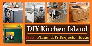 easy kitchen island plans kitchen island plans ideas construct101