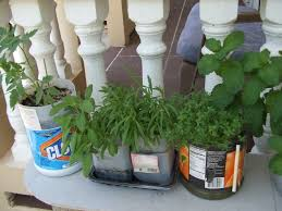 Patio Container Garden Ideas Container Gardening Vegetables And Herbs With Recycled Plastic