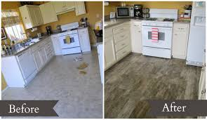 Fake Wood Laminate Flooring Restoration Beauty Faux Wood Tile Flooring In The Kitchen