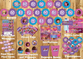 Lego Invitation Cards Lego Friends Inspired Birthday Party Kit By Cre8ivedesign On Zibbet