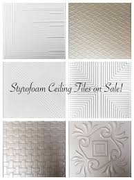 How To Put Up Tin Ceiling Tiles by Best 25 Styrofoam Ceiling Tiles Ideas On Pinterest Styrofoam