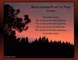 lakota indian prayer with translation american indian